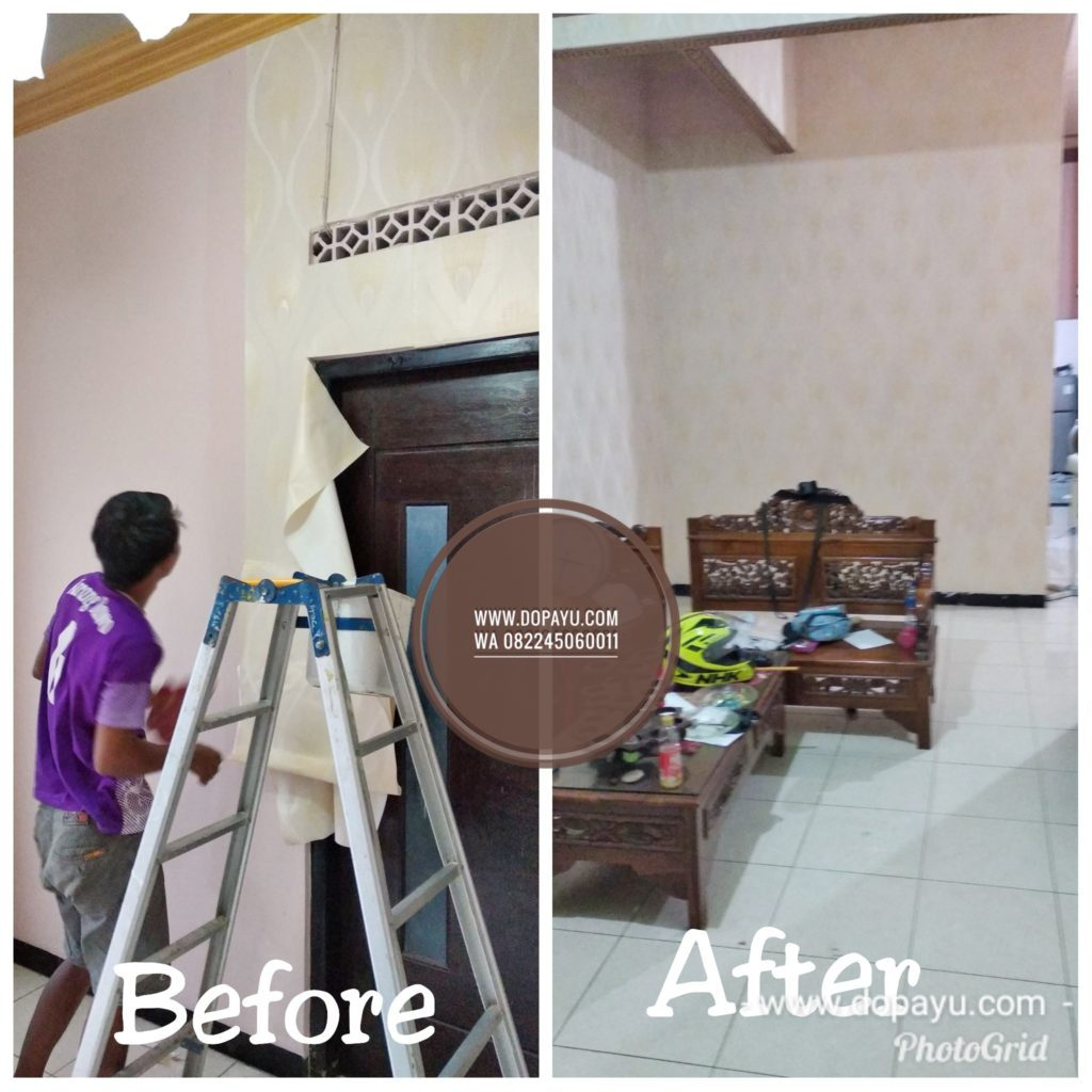 Jasa Pasang Wallpaper di Tuban Bojonegoro Lamongan