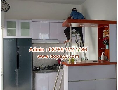 Jasa Interior Rumah Tuban | Kitchen Set di Tuban | Wallpaper Dinding Tuban