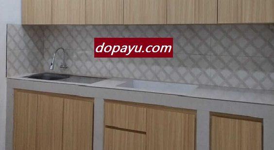 Kitchen SetSurabaya Sidoarjo Tampil Modern Minimalis