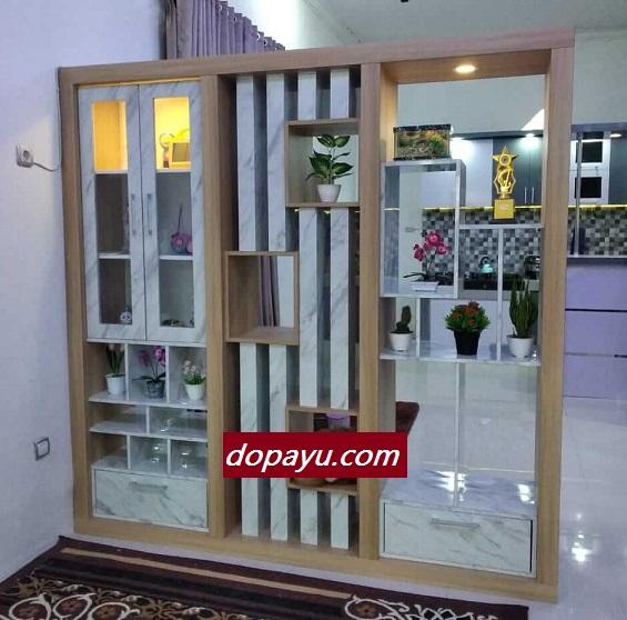 Pembuatan Lemari Sekat Partisi Rumah Minimalis di Sidoarjo Surabaya